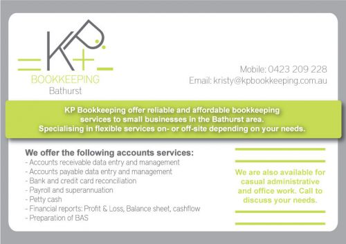 KP Bookkeeping - Mackay Accountants