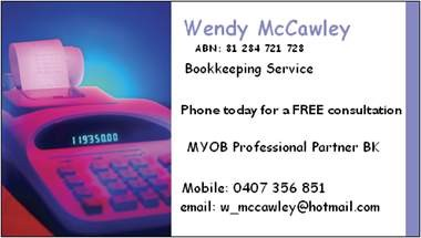 Wendy Mccawley - Mackay Accountants
