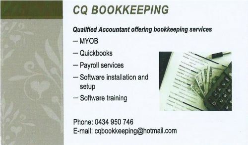 CQ Bookkeeping - Mackay Accountants